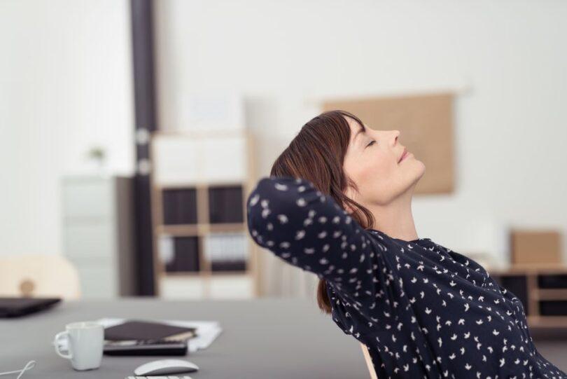 Métodos de relajación para empleados en una pyme