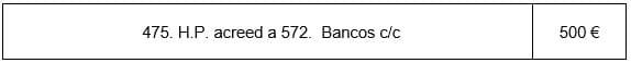 IVA acreedor a 572 bancos
