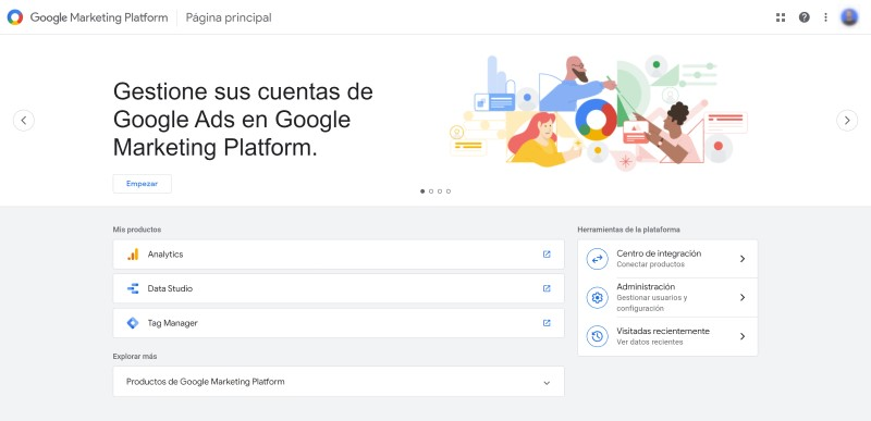 marketing digital herramientas de google